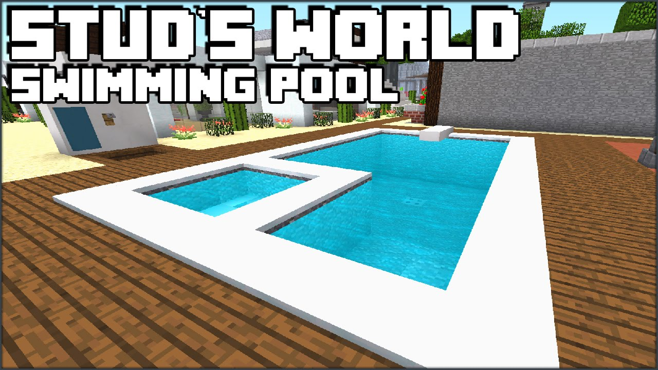 Minecraft Swimming Pool Stud 39 S World 76 Youtube