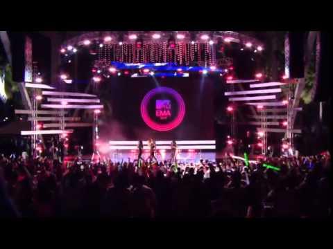Fifth Harmony   Bo$$ BOSS Live on MTV EMA 2014 kick off party