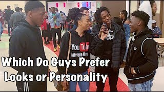 Which Do Guys Prefer Looks or Personality || Gabrielle Morris