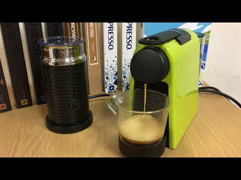 Nespresso Essenza Mini 濃縮沖泡影片