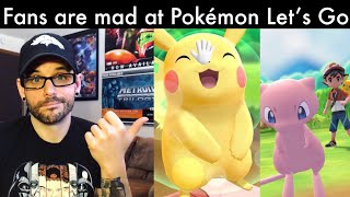 Why fans are mad at Pokemon Let