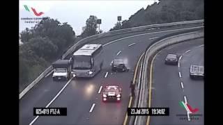 Acidentes nas estradas,imprudência.