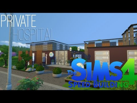 Sims 4 Speed Building - Private Hospital