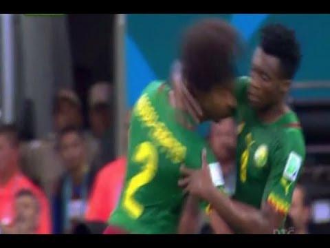 Assou Ekotto Vs Benjamin Moukandjo - FIGHTING Cameroon Players In World Cup 2014!!!