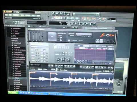 How To Use Akai MPD18 with SliceX FL Studio 10