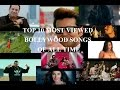 Top 10 Most Viewed Bollywood Songs Of All Time | Bollywood/Hindi/Indian Songs