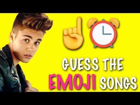 EMOJI CHALLENGE ★ Guess the Justin Bieber Songs