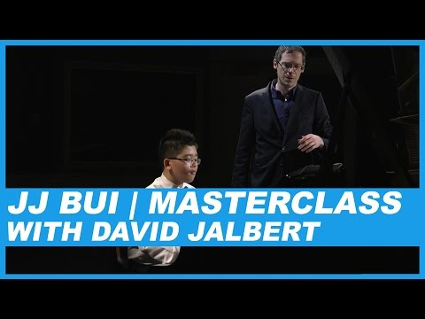 JJ BUI | MASTERCLASS WITH DAVID JALBERT