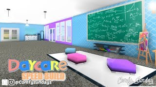 DayCare Speed Build || Roblox BloxBurg