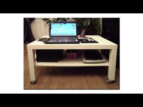 Столик для ноутбука на колёсиках
