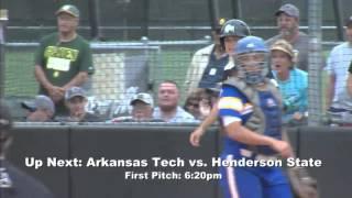 GAC Softball Tournament (Day 2) - Arkansas Tech vs. Henderson State