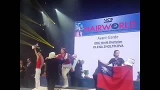 Екатеринбурженка завоевала серебро на чемпионате по парикмахерскому искусству