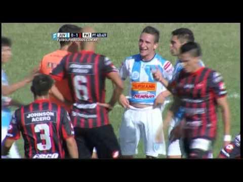 Gol de Zampedri. Juventud Unida 1 - Patronato 1. Fecha 41. B Nacional 2015. FPT.