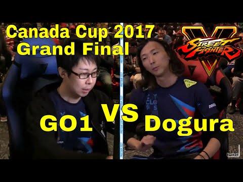 SFV - Canada Cup Grand Final | Dogura Vs GO1 | CPT 2017