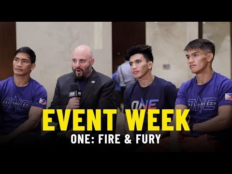 Event Week Vlog | ONE: FIRE & FURY