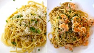 Best Lemon Pasta & Pasta with Shrimp Scampi recipes by SAM THE COOKING GUY