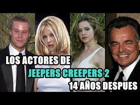 Así lucen los actores de ''Jeepers Creepers 2'' 14 años después!