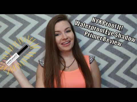 NYX Proof It! Waterproof Eye Shadow Primer Review
