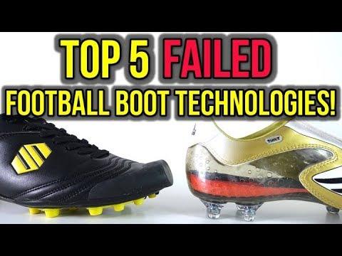 04e304038b1f3 TOP 5 FAILED FOOTBALL BOOT TECHNOLOGIES OF ALL-TIME! - YouTube