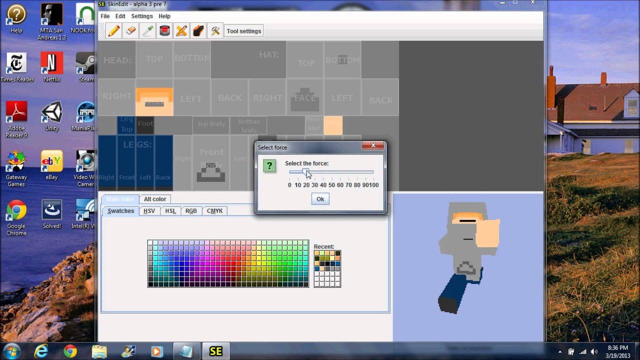 minecraft skin editor download windows 10