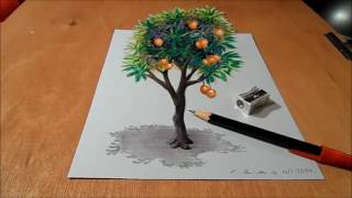 Drawing  mango tree,s picture.....