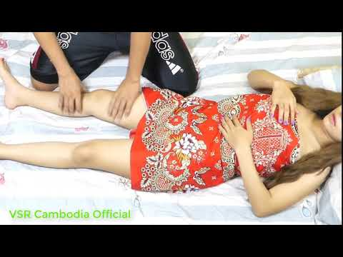 Sexy girl message in room - Aromatherapy Massage Video Techniques #17