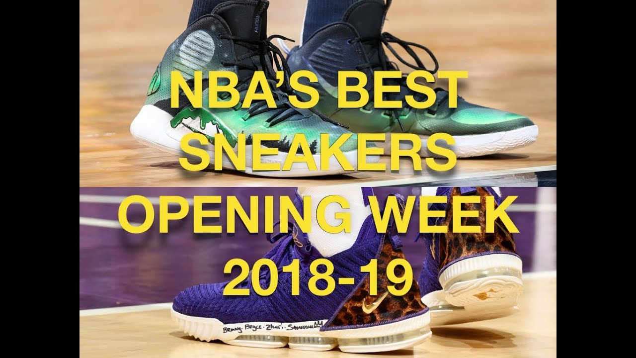 f8d40b51c81b NBA S BEST Sneaker From Opening Week 2018-19 (My Thoughts) - YouTube