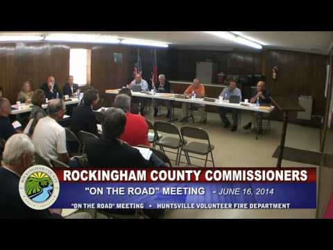 June 16, 2014 Rockingham County Board of Commissioners On The Road Meeting