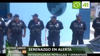 Serenazgo de Victor Larco intensificará patrullaje y operativos - Trujillo