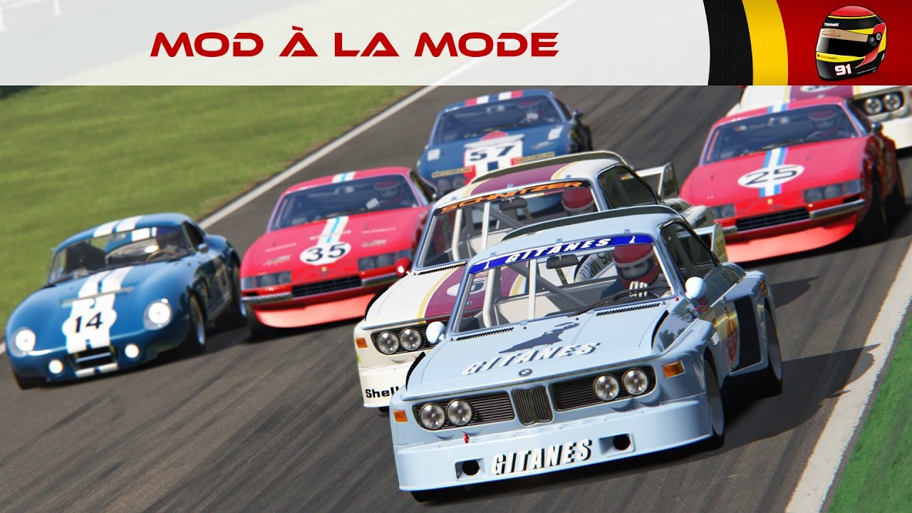 Le Mod à la mode #42: GT Legends (Assetto Corsa) [FR ᴴᴰ]