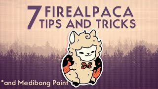 7 TIPS AND TRÏCKS for FIREALPACA You Never Knew About! Tutorial