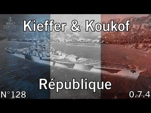 World of Warships - 0.7.4.1 - République - Batailles classées (saison 9) - HD
