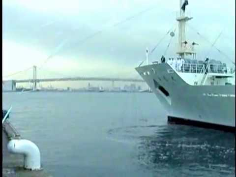 【Amazing Sea】All hands on deck / A Japanese training vessel