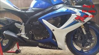 How to rebuild a Suzuki GSXR 600 K7