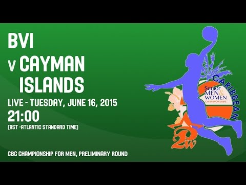 British Virgin Islands v Cayman Islands - Group A - 2015 CBC Championship
