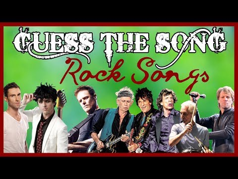 GUESS THE SONG 80s Rock Songs