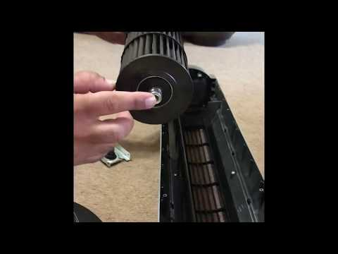 Tower Fan Cleaning And Reassembling