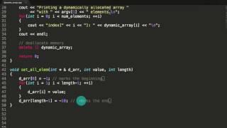 Het Maken van een Dynamisch Toegewezen Array en Wat Meer leuke Dingen C++