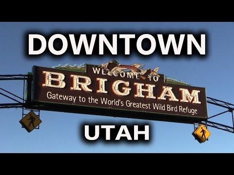 Downtown Brigham, Utah