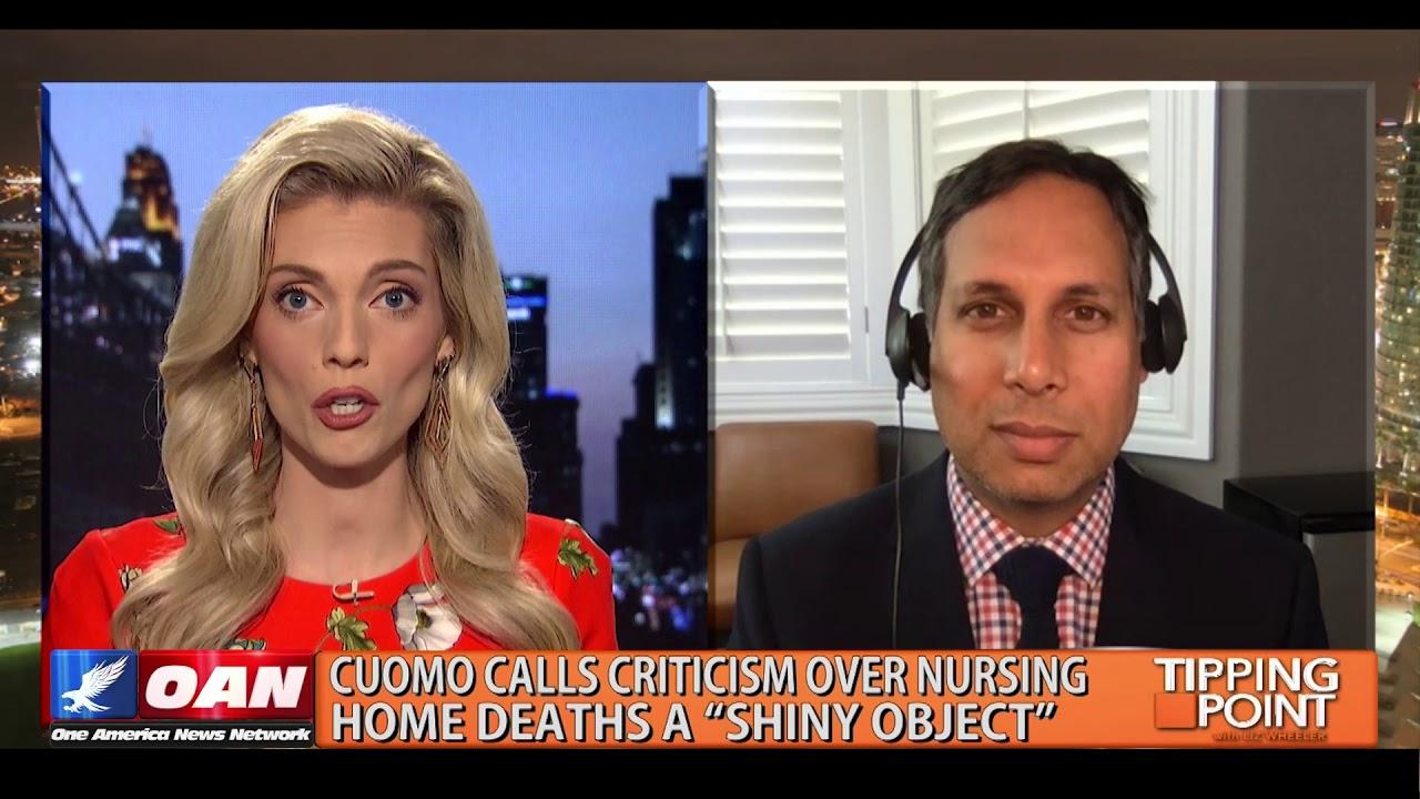 """Cuomo Calls Criticism over Nursing Home Deaths a """"Shiny Object"""""""