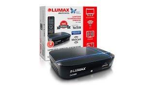 lumax 1115 - обзор цифровой ТВ приставки