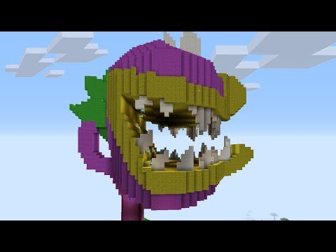 Minecraft Vs Plants Vs Zombies CARNÍVORA GIGANTE