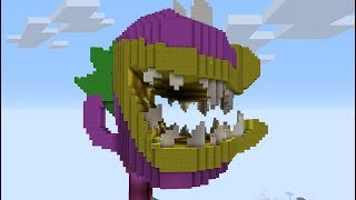 Minecraft Vs Plants Vs Zombies CARNÍVORA GIGANTE