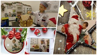 Magical Power Kid Little Chef Make Gingerbread House Maxic Caught Santa Claus On Christmas Eve