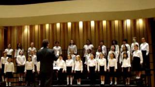 Julia with Colburn Choir, Jubilate, Skye Boat Song, Path to The Moon