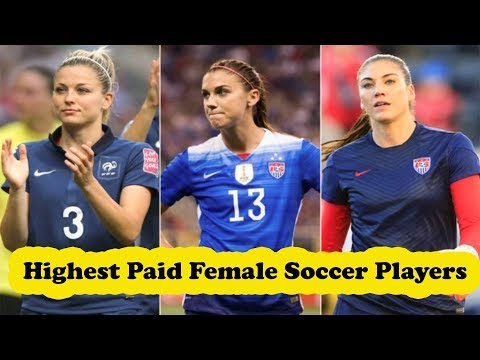 Top 10 Highest Paid Female Soccer Players In 2017