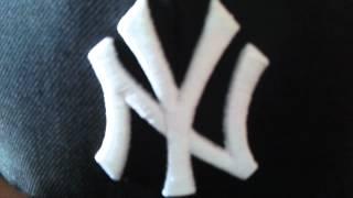 NY Yankees cappello nero