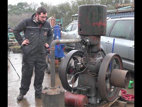 Lister RH Petrol Engine  Of 1929 Vintage.