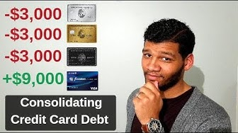 Credit Card Debt:How to Consolidate it (2019)