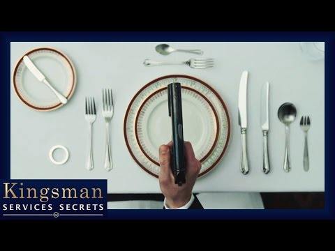 Kingsman comment devenir un agent les bonnes mani res for Les bonnes manieres a table en france